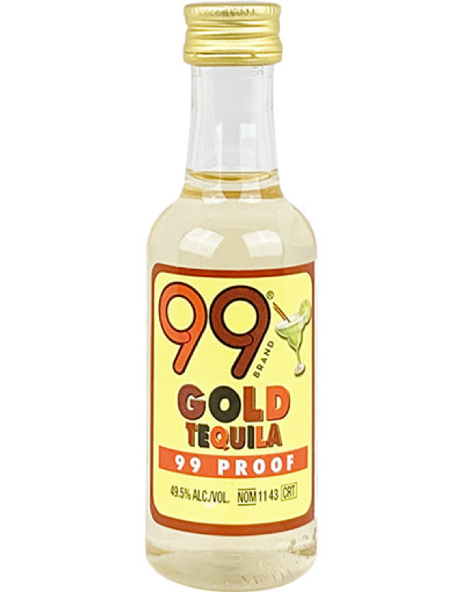 99 99 Gold Tequila 50ML