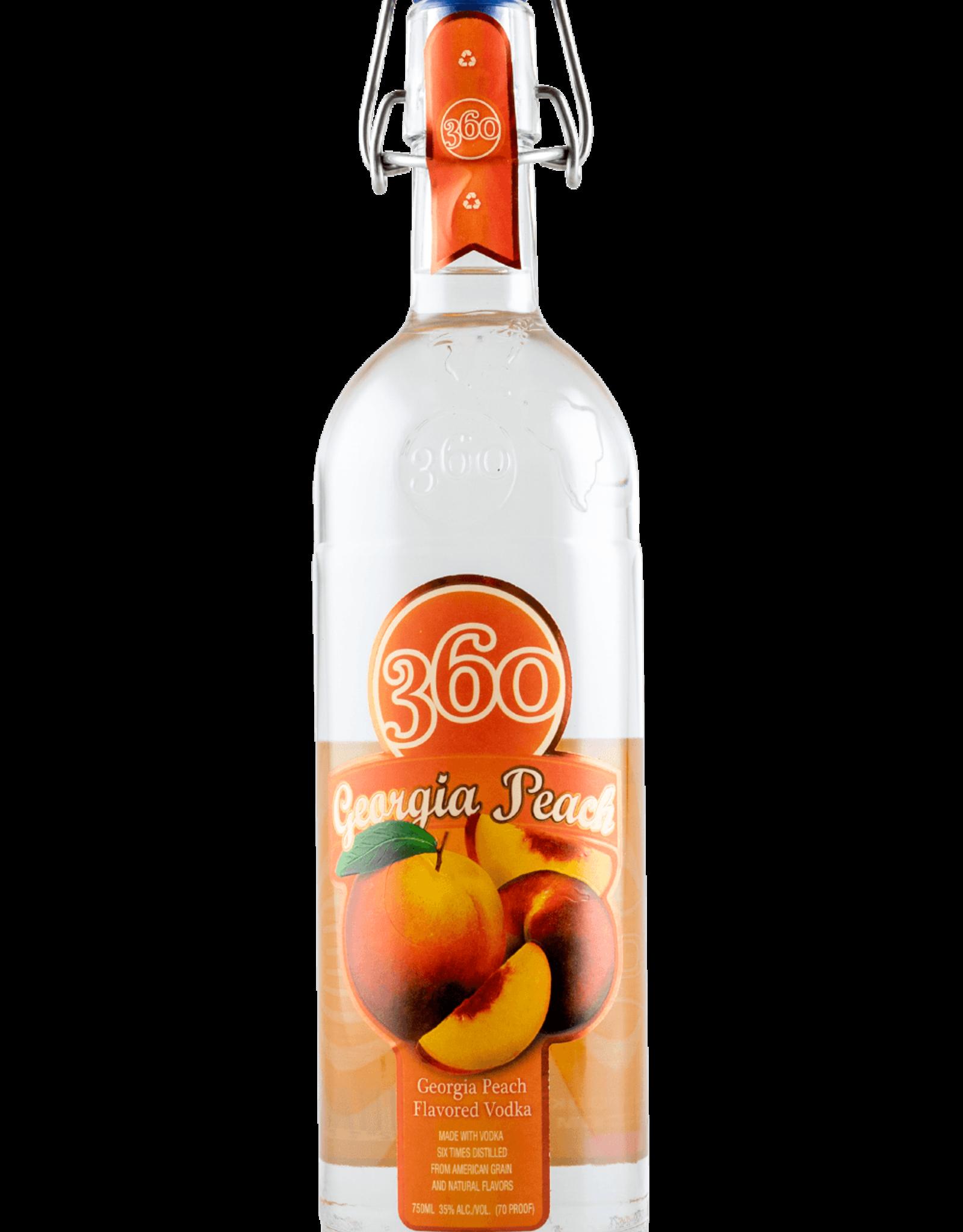 360 Vodka 360 Vodka Georgia Peach 750ML