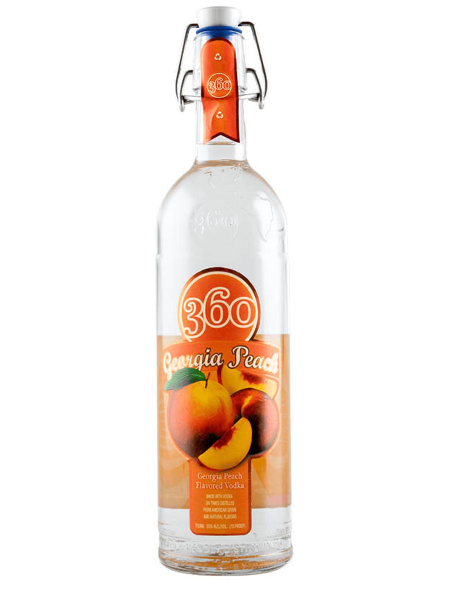 360 Vodka 360 Vodka Georgia Peach 1.75L