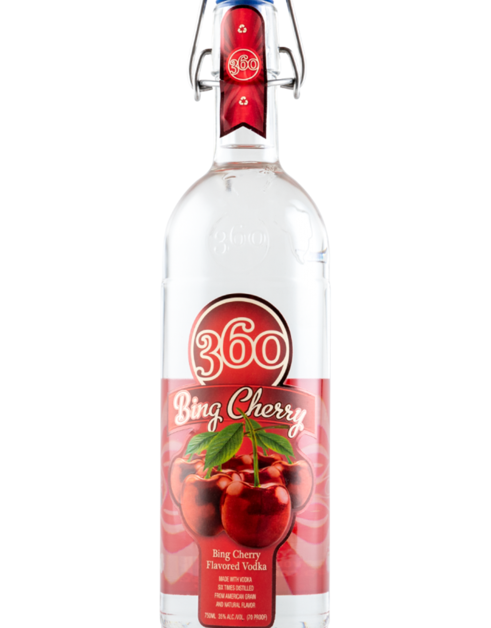 360 Bing 360 Bing Cherry Vodka 750ML