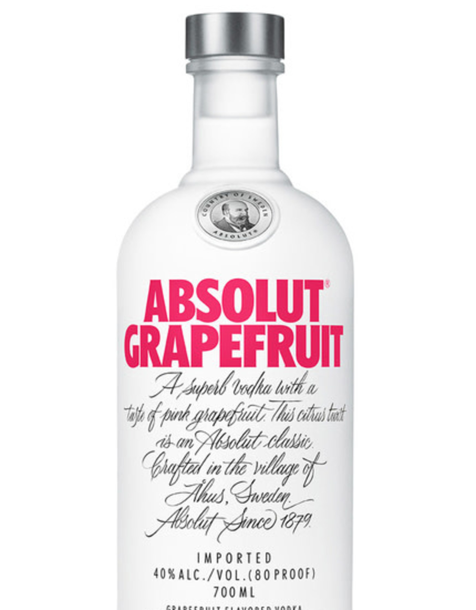 Absolut Absolut Grapefruit Vodka 750ML
