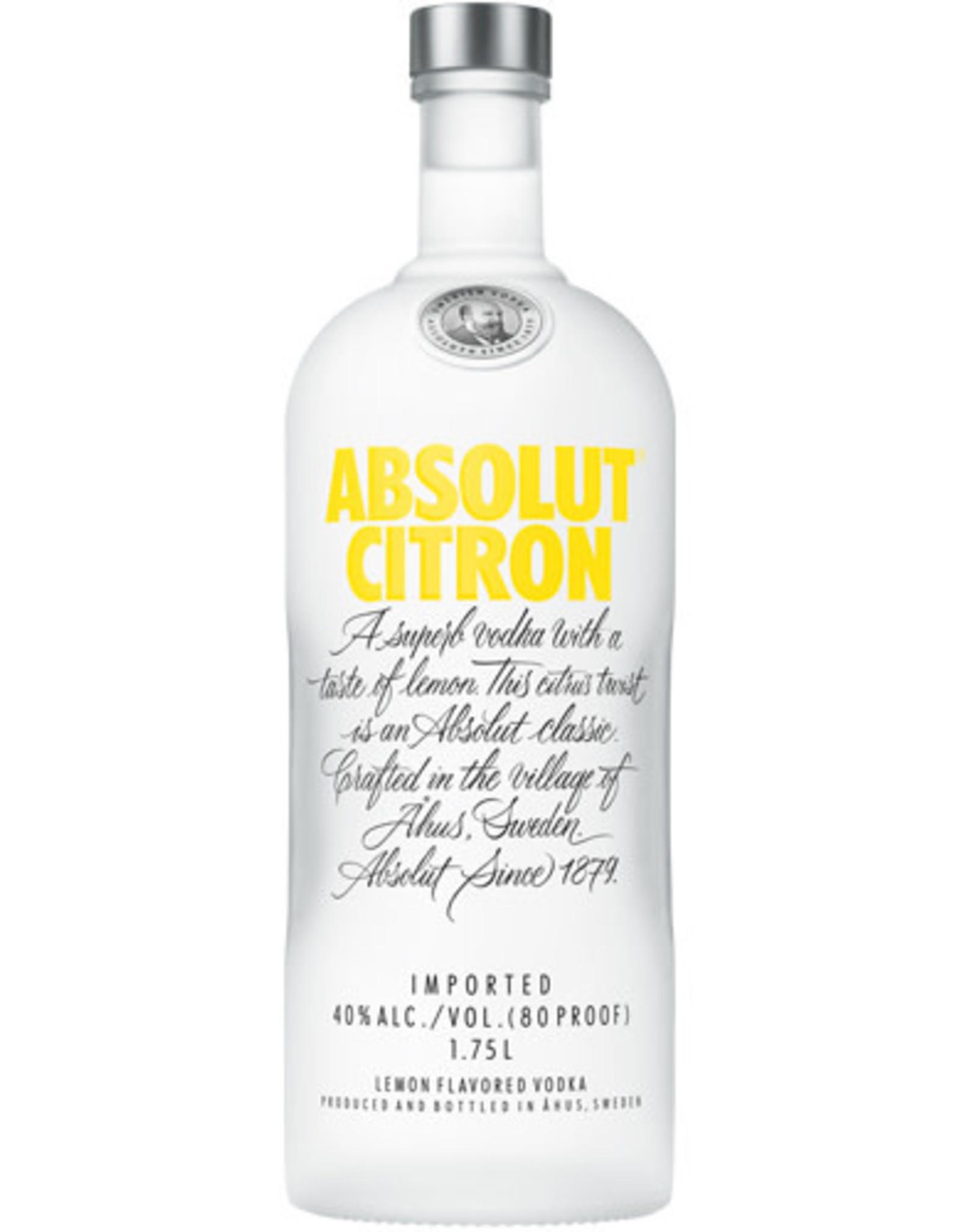 Absolut Absolut Vodka Citron 1.75L