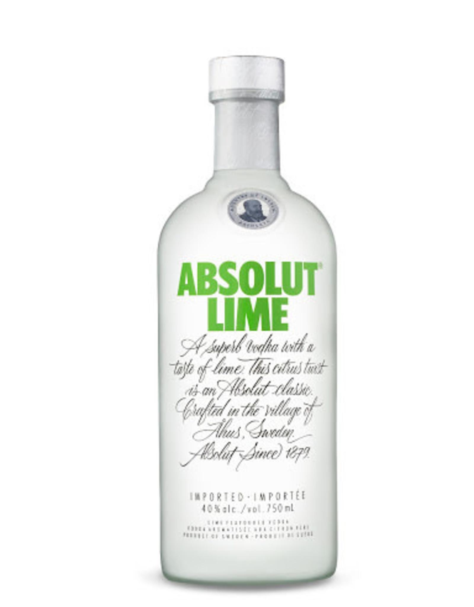 Absolut Absolut Vodka Lime 1.75L