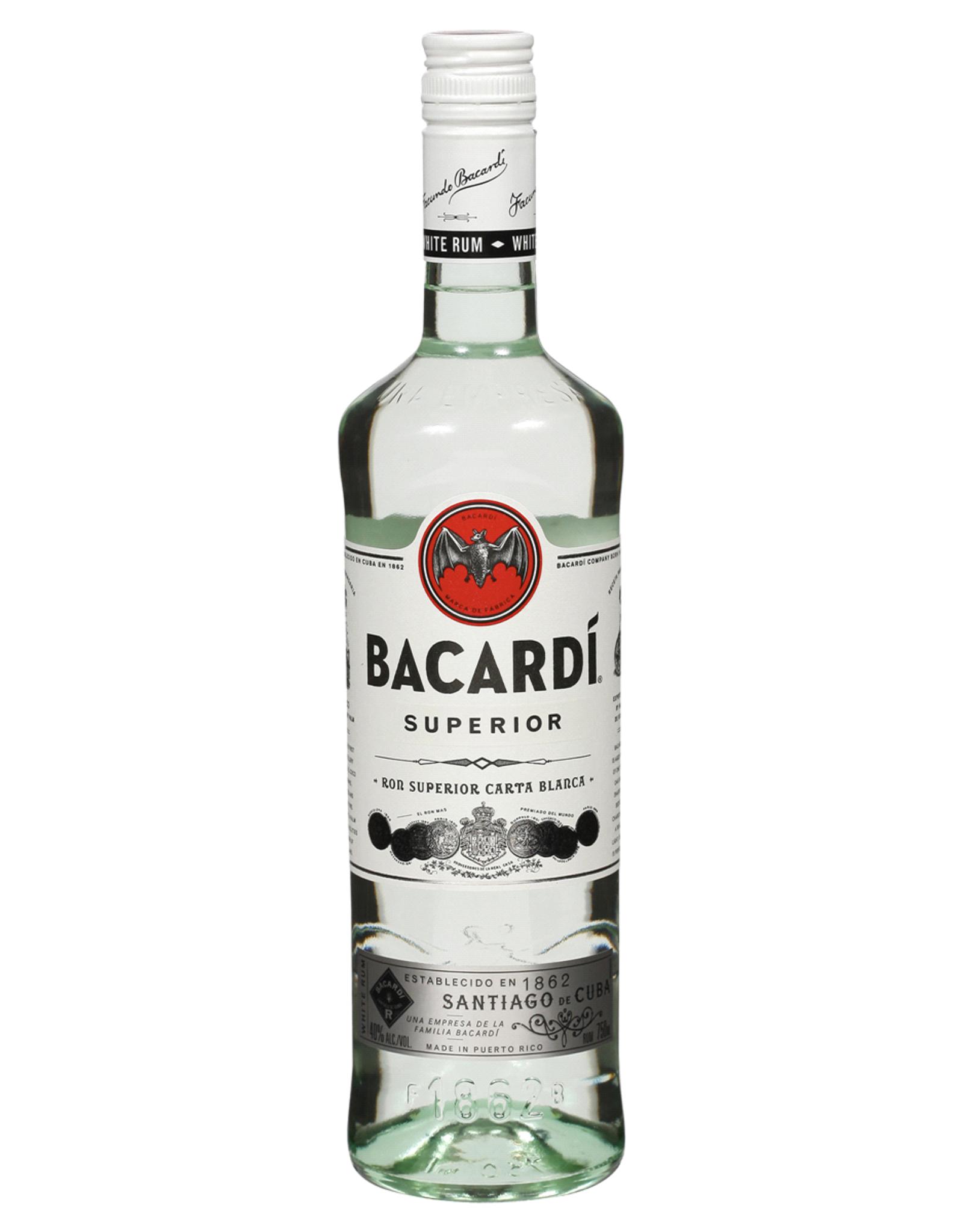 Bacardi Bacardi Rum Superior 750ML