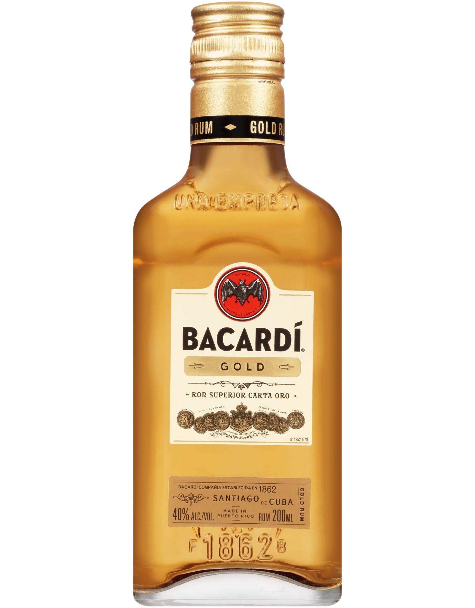 Bacardi Bacardi Rum Gold 200ML