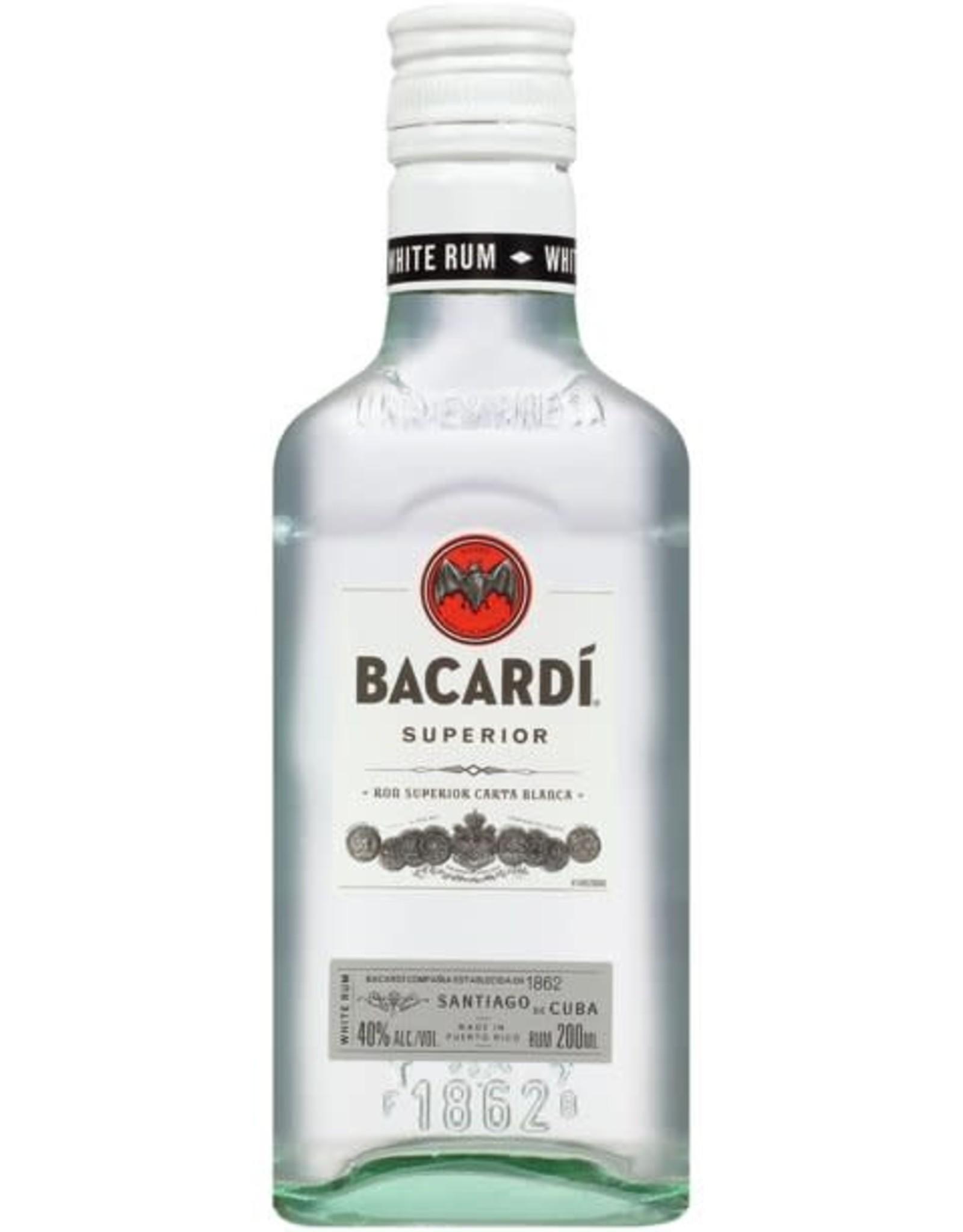 Bacardi Bacardi Rum Superior 200ML