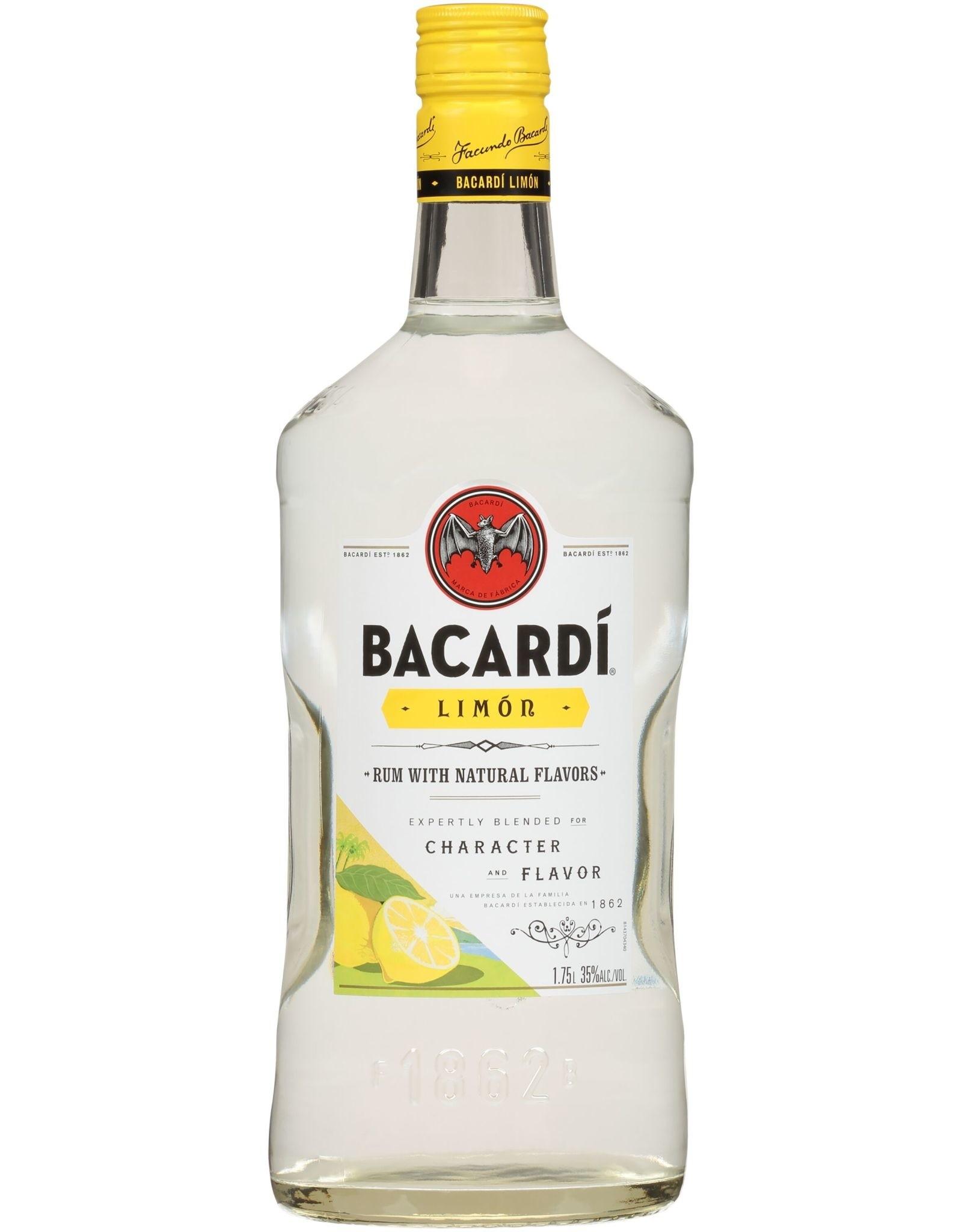 Bacardi Bacardi Rum Limon 1.75L