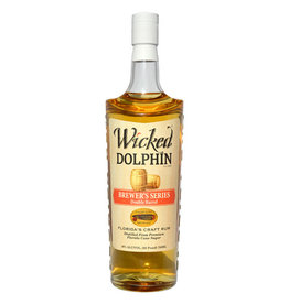 Wicked Dolphin Wicked Dolphin Cigar City Brewer's Series Double Barrel Rum 750ML