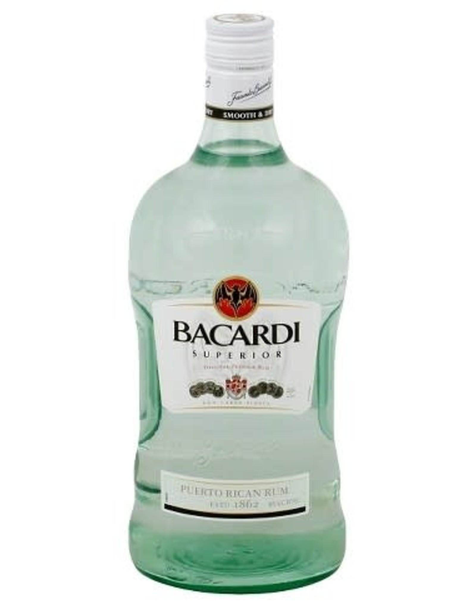 Bacardi Bacardi 80 Rum Superior Light 1.75L