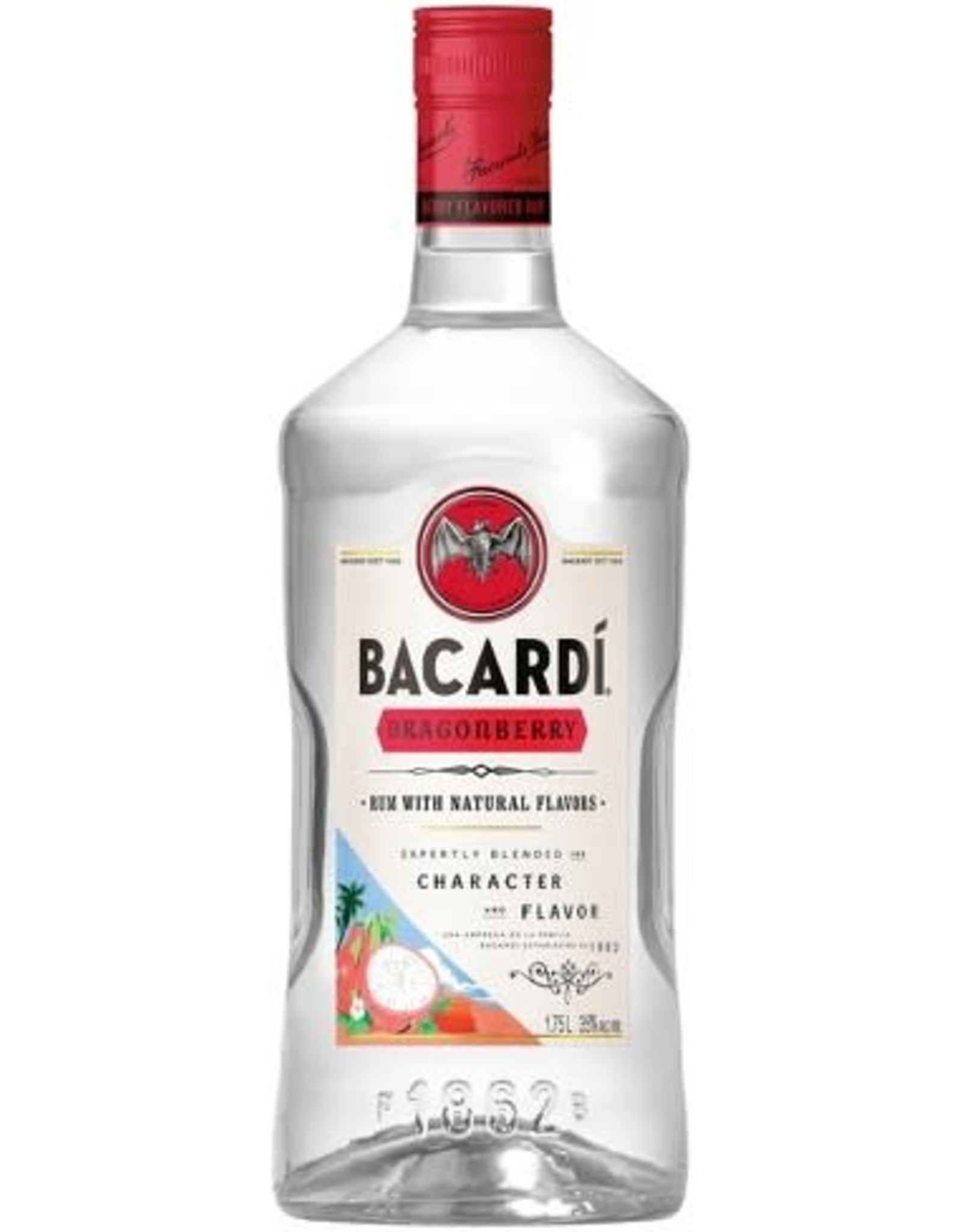 Bacardi Bacardi Rum Dragon Berry 1.75L