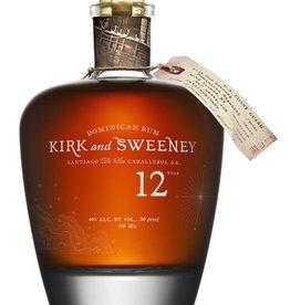 Kirk and Sweeney Kirk and Sweeney 12yr Dominican Rum 750ML
