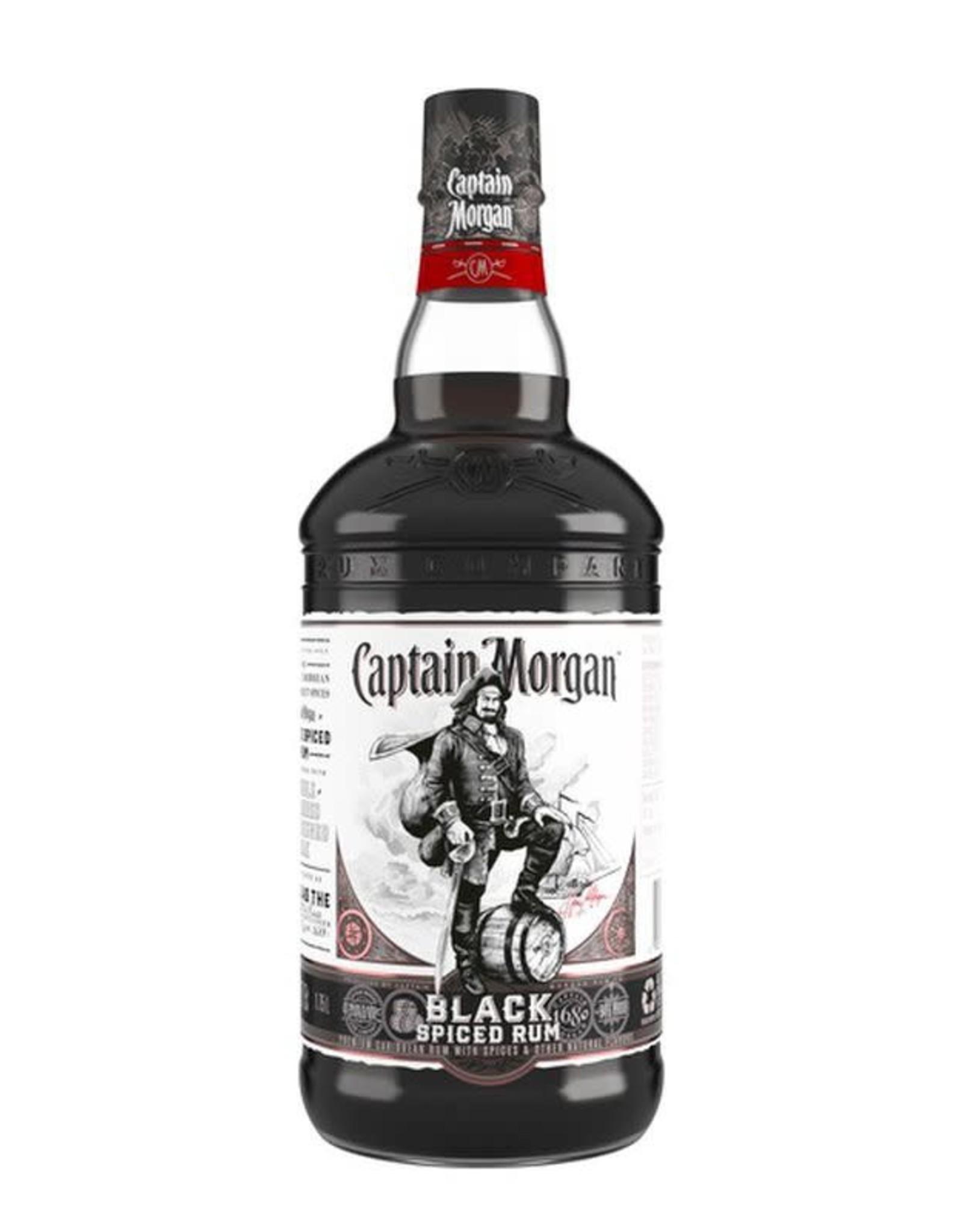 Captain Morgan Captain Morgan Rum Spiced Black 94.6 1.75L