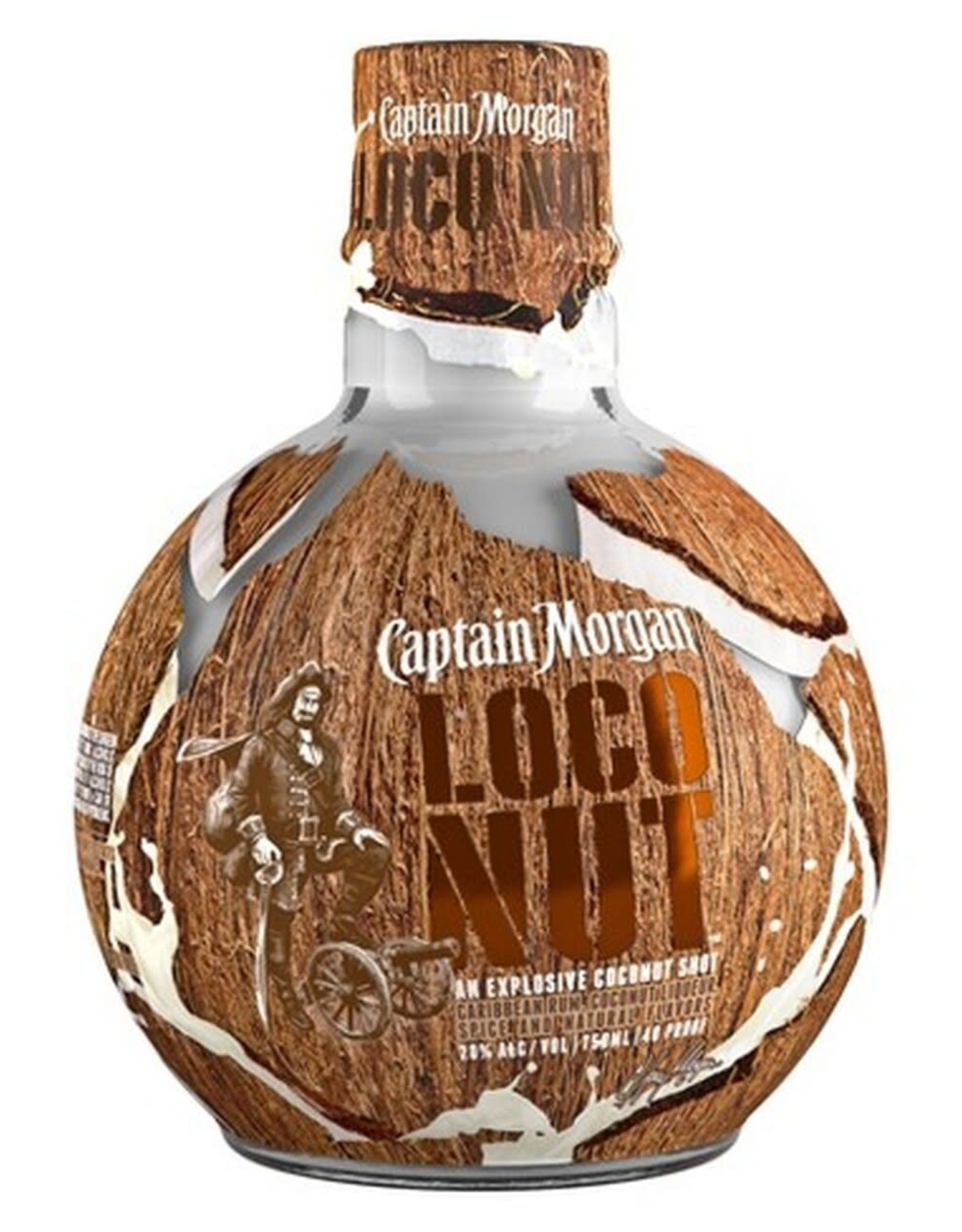 Captain Morgan Captain Morgan Loco Nut 750ML