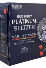 Budweiser Bud Light Platinum Seltzer Variety 6pk