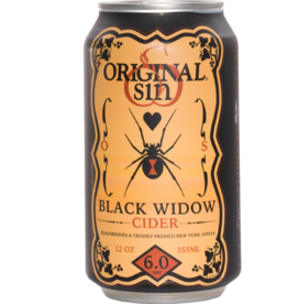 Original Sin Original Sin - Black Widow Cider 6pk