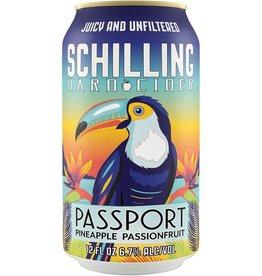 Schilling Cider Schilling - Passport Pineapple Passionfruit 6pk