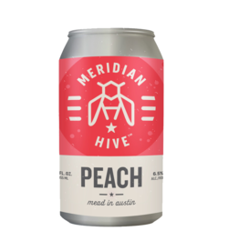 Meridian Hive Meadery Meridian Hive - Peach Single Can
