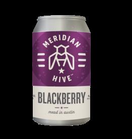 Meridian Hive Meadery Meridian Hive - Blackberry Single Can