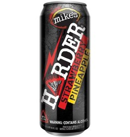 Mike's Hard Mike's Harder Strawberry Pineapple 24oz Can