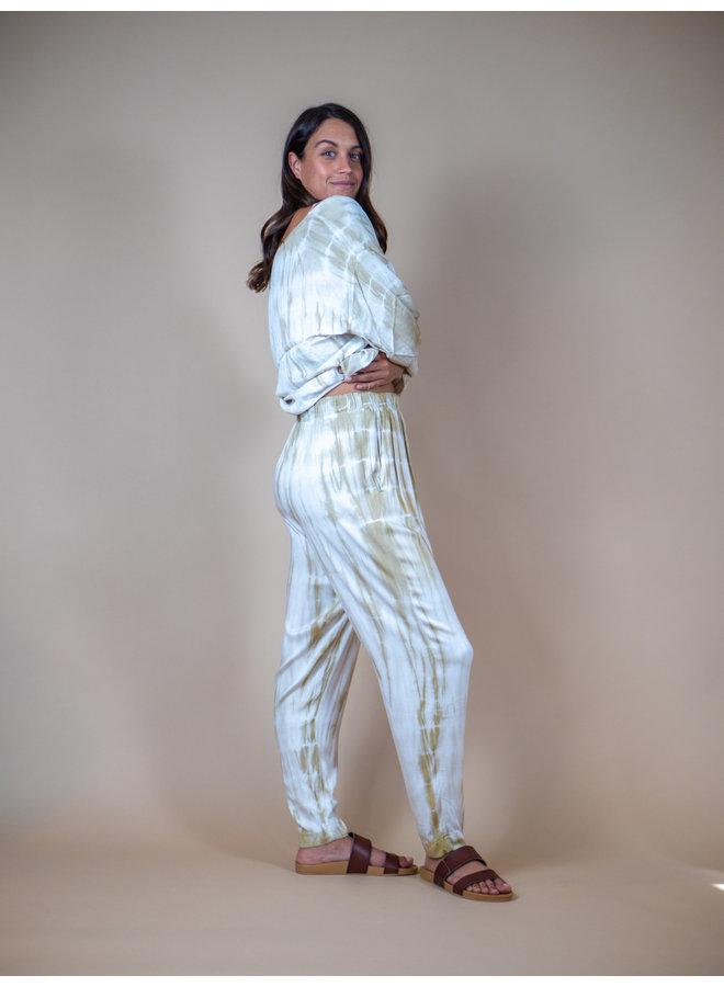 Vanilla Swirl Tie Dye Pants