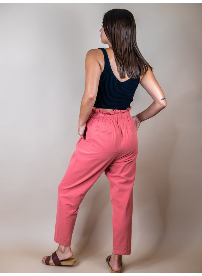 Rosy High Rise Pants