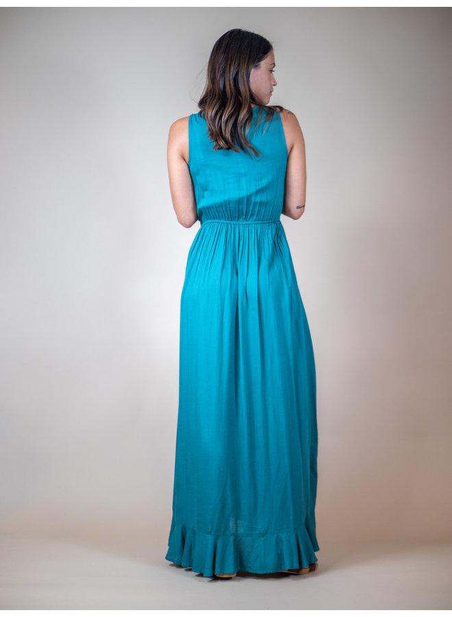 Chelsea Ruffled Maxi Dress