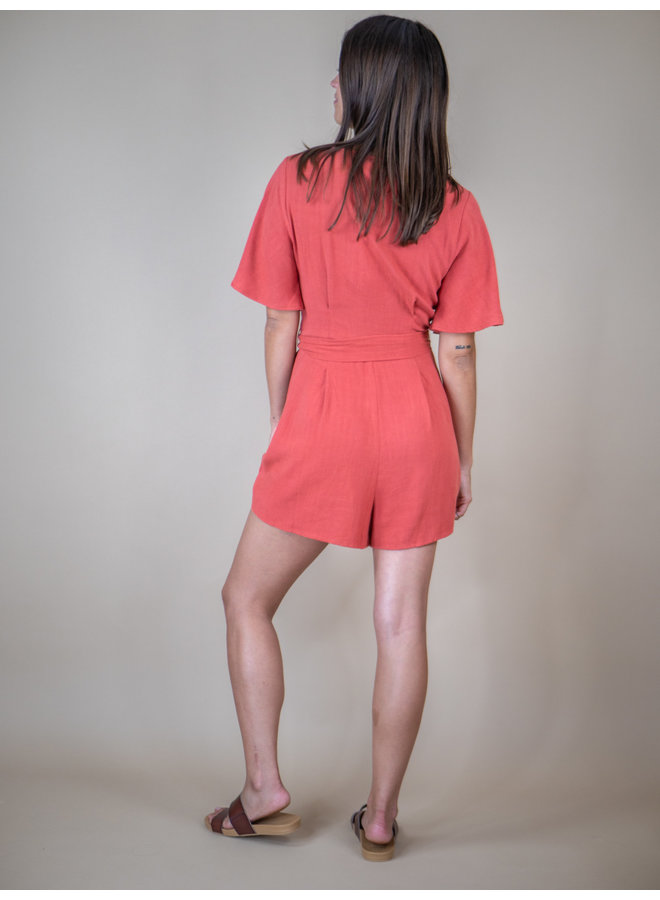 Pinch of Paprika Romper