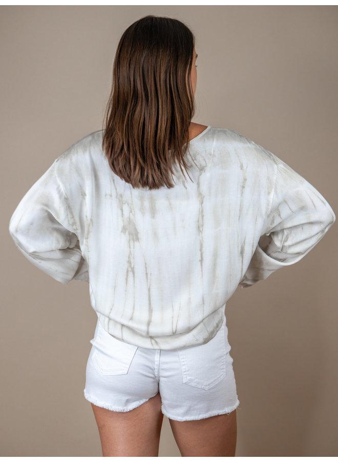 Vanilla Swirl Tie Dye Long Sleeve