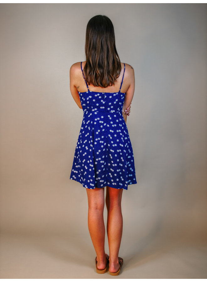 On The Shore Floral Skater Dress