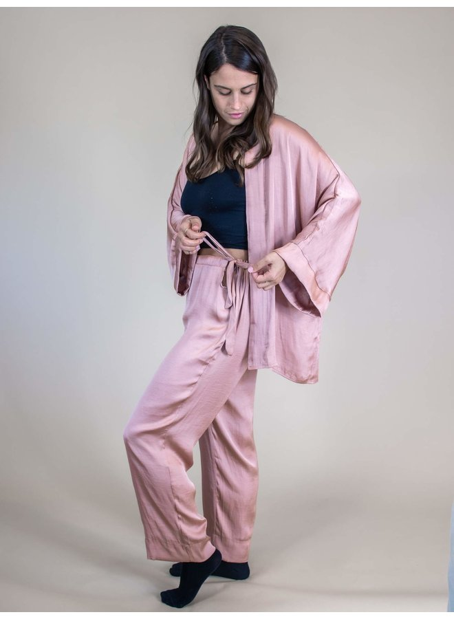 Satin Doll Drawstring Pants