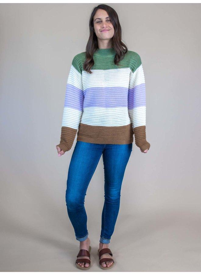 Lisa High Neck Sweater
