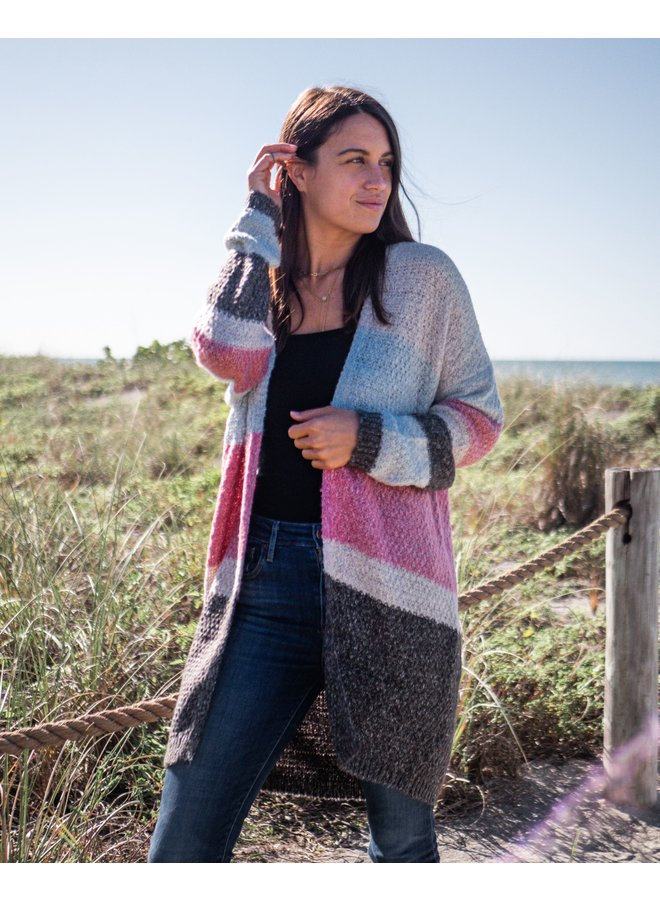 Stripes For Days Cardigan