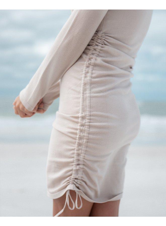 Taupe Knit Dress