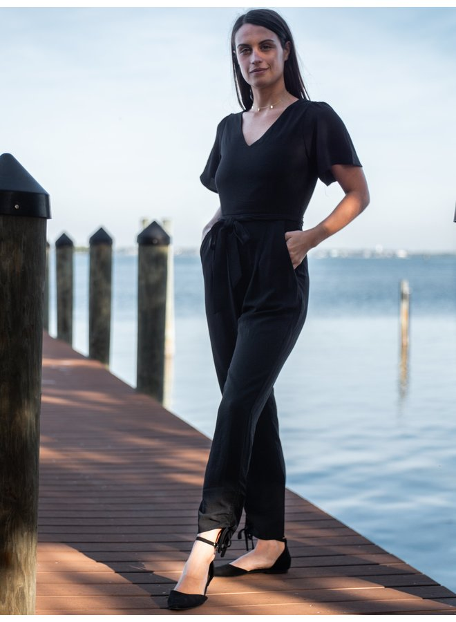 Hannah Black Jumpsuit