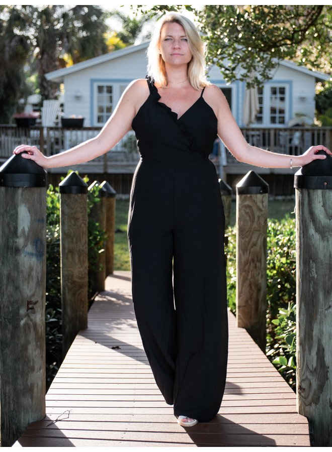 Seas the Day Ruffle Jumpsuit