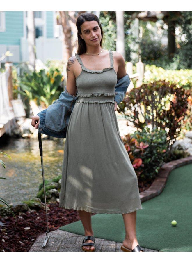 Seagrass Babydoll Dress