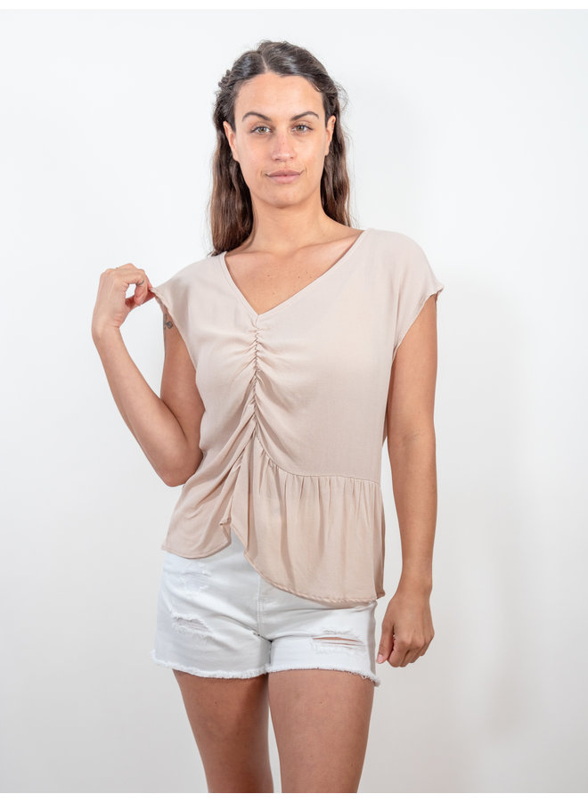 Shirred Blouse