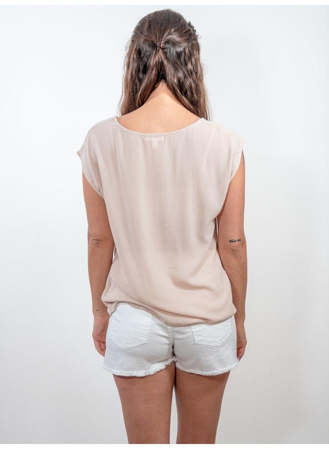 Calista Asymmetrical Blouse