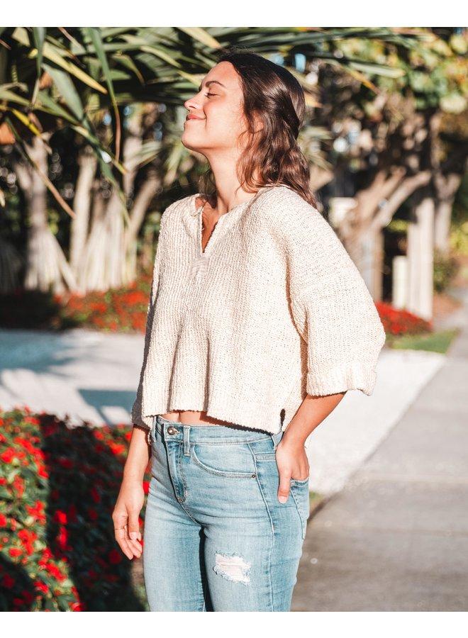 Port Side Oatmeal Sweater