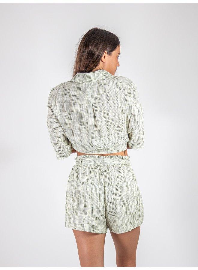 Waverly Olive Shorts
