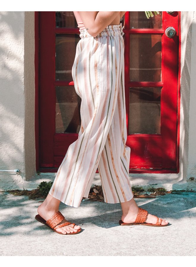 Petal Striped Pants