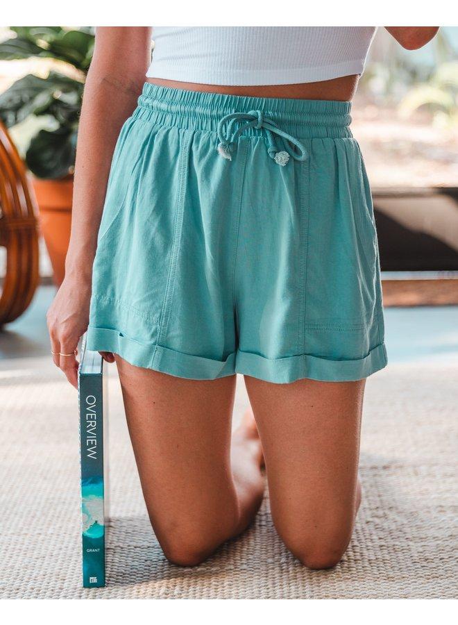 Seafoam Blue Shorts