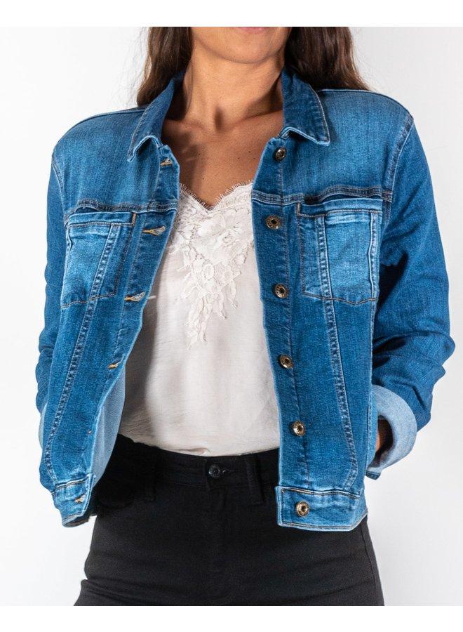 Jolene Medium Washed Denim Jacket