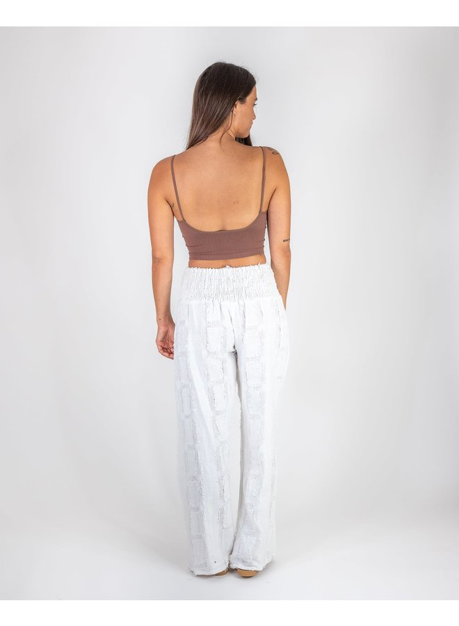 White Sands Textured Pants