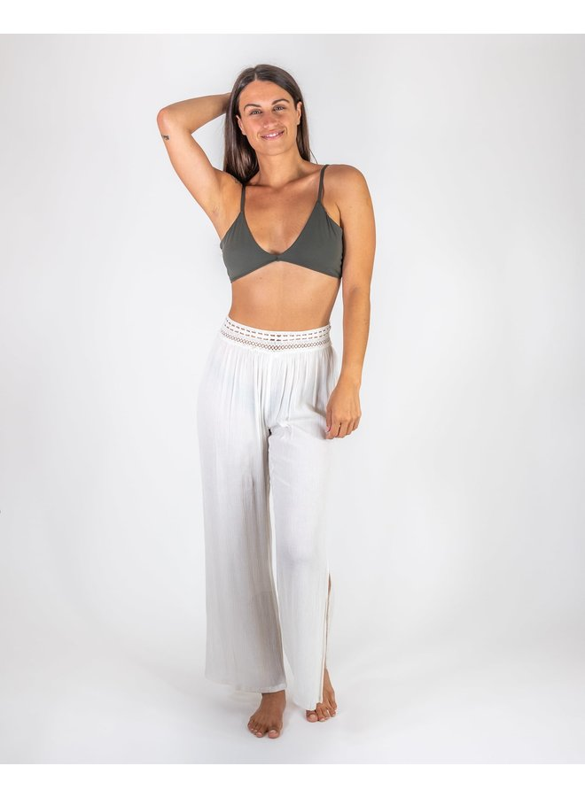 Crocheted Waist Cover Up Pants