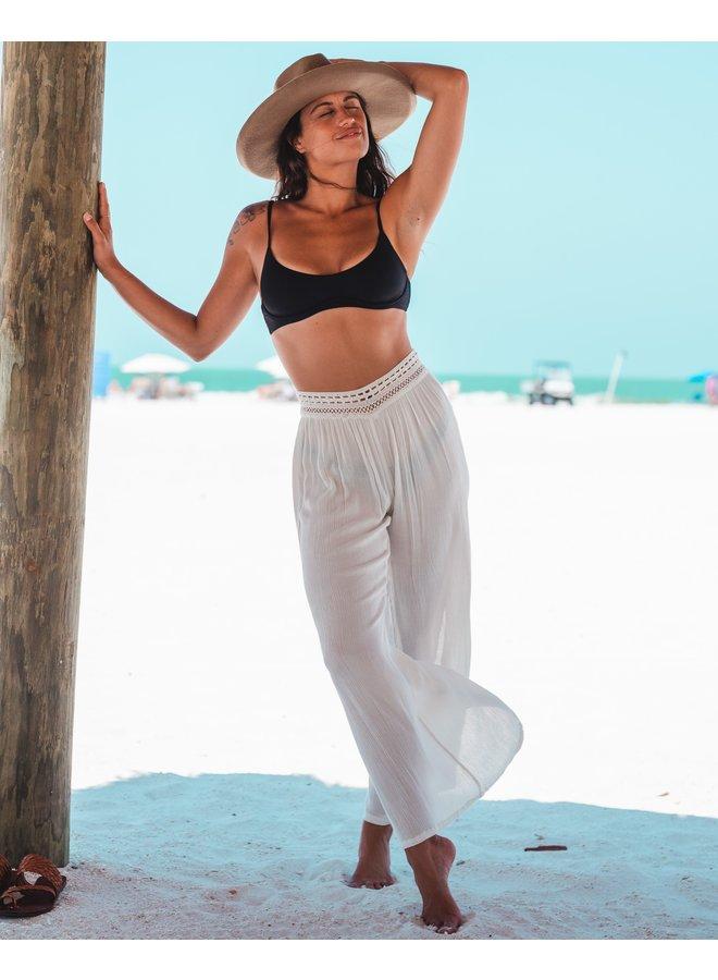 Isla Crochet Waist Cover Up Pants
