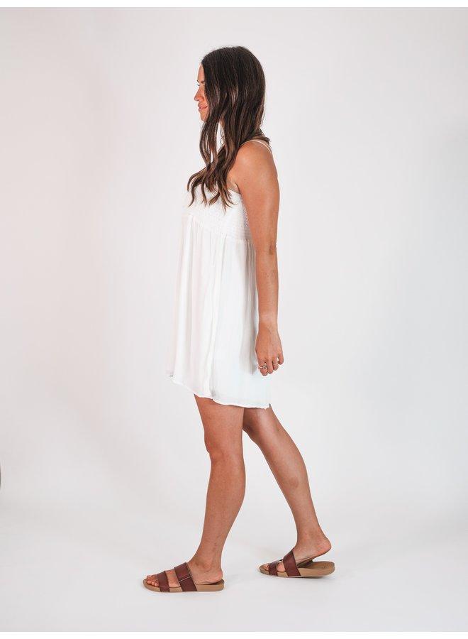 Madison White Mini Dress