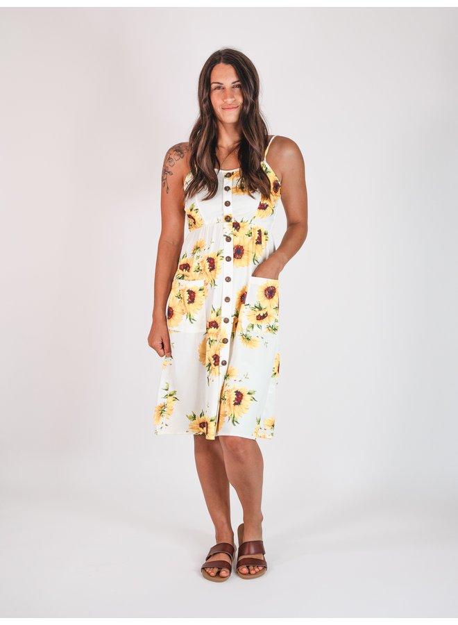 Sun Tracker Midi Dress