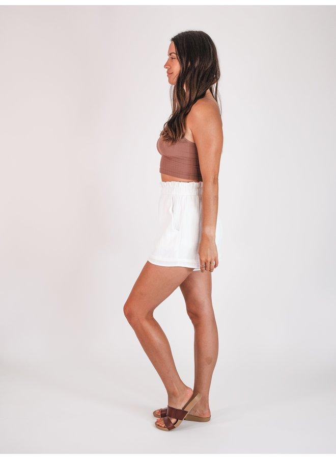 Ivory Shorts