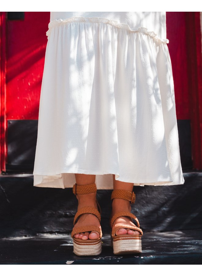 Casita Blanca Maxi Dress